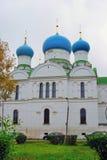 突然显现的修道院在Uglich,俄罗斯 图库摄影