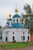 突然显现的修道院在Uglich,俄罗斯 库存照片