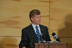 突然移动州长mcdonnell VA 库存照片