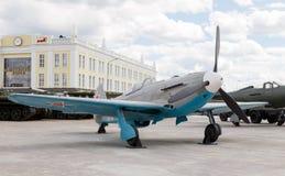 突击队员IL-2模型1942年 Pyshma, Ekaterinburg,俄罗斯-澳大利亚 图库摄影