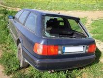 窃取的汽车 免版税库存图片