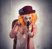 窃贼小丑 免版税库存图片