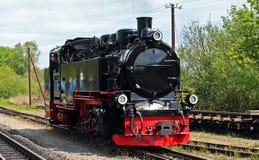 窄片蒸汽机车 免版税图库摄影