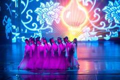 窑工作者--历史样式歌曲和舞蹈戏曲不可思议的魔术-淦Po 免版税库存照片