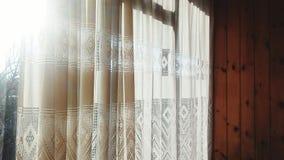 窗口和阳光 免版税库存图片