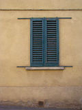 窗口在托斯卡纳 库存照片