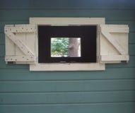 窗口在窗口里 免版税库存图片
