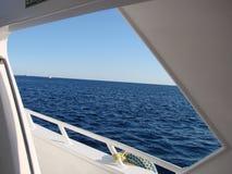 窗口在红海 免版税库存图片