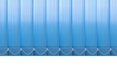窗口垂直的织品窗帘 免版税库存照片