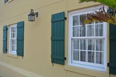 窗口墙壁 免版税库存图片