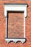 窗口砖 免版税库存照片