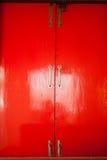 窗口红色 图库摄影