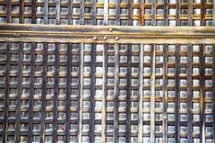 窗口老木纹理的 免版税库存照片