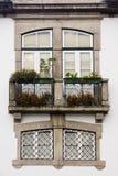 窗口葡萄牙 免版税库存照片