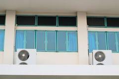 窗口蓝色 库存图片