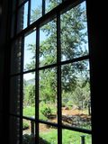 窗口视图 免版税库存照片