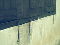 窗口门闩 库存图片