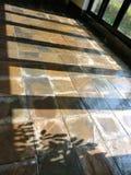 窗口阴影在liangzhu博物馆061 免版税库存照片