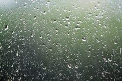 窗口雨 库存照片