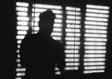 窗口阴影 免版税库存图片