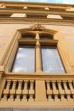 窗口-新的新生样式 免版税库存照片