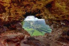 窗口洞-波多黎各 库存照片