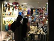 窗口购物在威尼斯 免版税库存图片