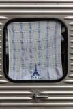 巴黎窗口 免版税库存照片