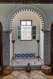 窗口inTetuan在摩洛哥 库存图片