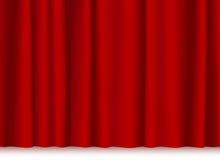 窗帘剧院 库存图片