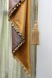窗帘和缨子 图库摄影