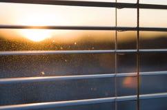 窗帘在家 免版税图库摄影