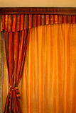 窗帘垂直 库存图片