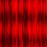 窗帘头发红色 免版税库存图片