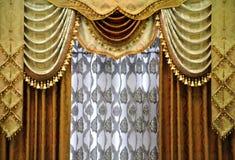 窗帘模式 库存图片