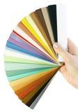 窗帘现有量范例 免版税库存图片