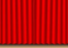 窗帘电影 库存照片