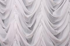 窗帘白色 免版税库存图片