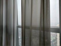 窗帘的背景 免版税库存照片
