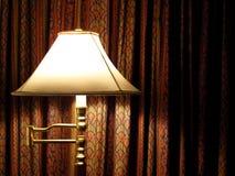 窗帘空间立场 库存照片