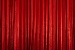 窗帘红色纹理 免版税库存图片