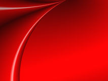 窗帘红色 向量例证