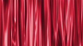窗帘红色 库存例证