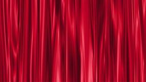 窗帘红色 皇族释放例证