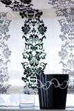 窗帘装饰 图库摄影