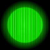 窗帘设计您绿色的例证 图库摄影