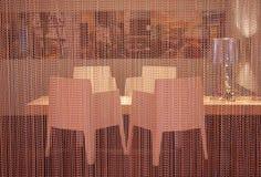 窗帘金属 免版税库存照片