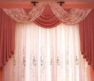 窗帘 免版税图库摄影