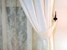 窗帘 图库摄影
