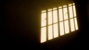 窗玻璃阴影 免版税库存图片